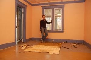 LR Floor Removal - Nov, 2010