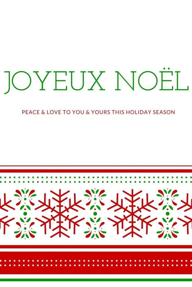 Peace & love to you & yours this holiday season
